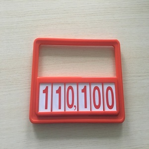 plastic promotion frame supermarket retail price hang tags vegetable fruit retail price Tickets Pop Price Tag Frame