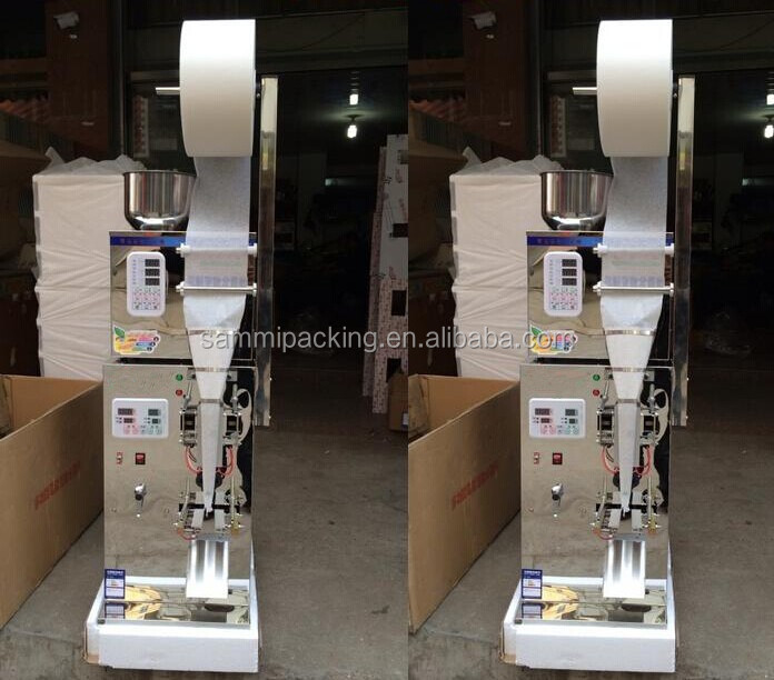 High efficiency automatic powder bag filler and sealer, tea bag packer machine