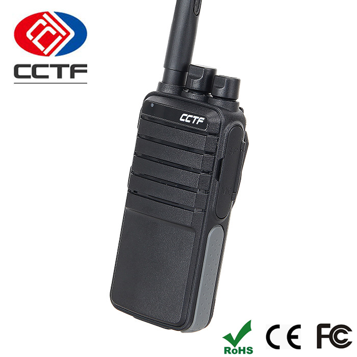 CCTF China Police Intercom Interphone Two Way Radio Portable Wireless Talkie Walkie