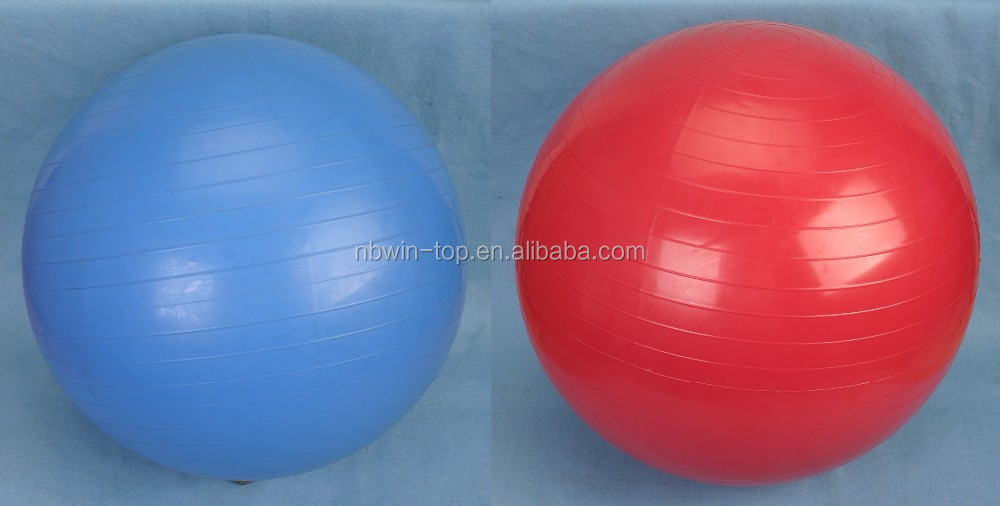 anti-burst gym ball yoga ball in gymnastics