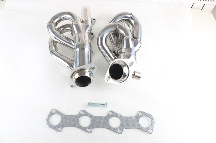 Stainless Steel Exhaust Manifold Header Pipes for Ford F150 1997-2003 4.6L Exhaust Header