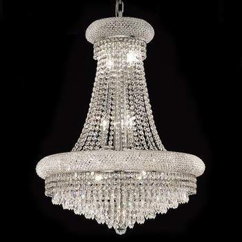 Antique Eyptian Crystal Silver Chandelier Home Art Decor Lights