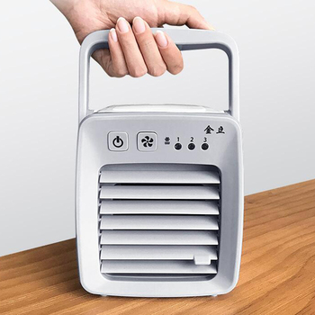 Portable Mini Air Conditioner Fan Personal Evaporative Air Cooler The Quick  Easy Way To Cool Any