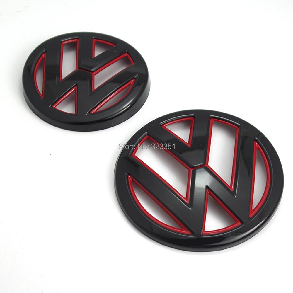achetez en gros noir logo vw en ligne des grossistes noir logo vw chinois. Black Bedroom Furniture Sets. Home Design Ideas