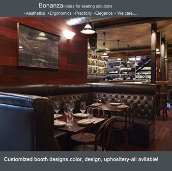 Leather Restaurant Booth Design Fk-1007# Modern Design Restaurant ...