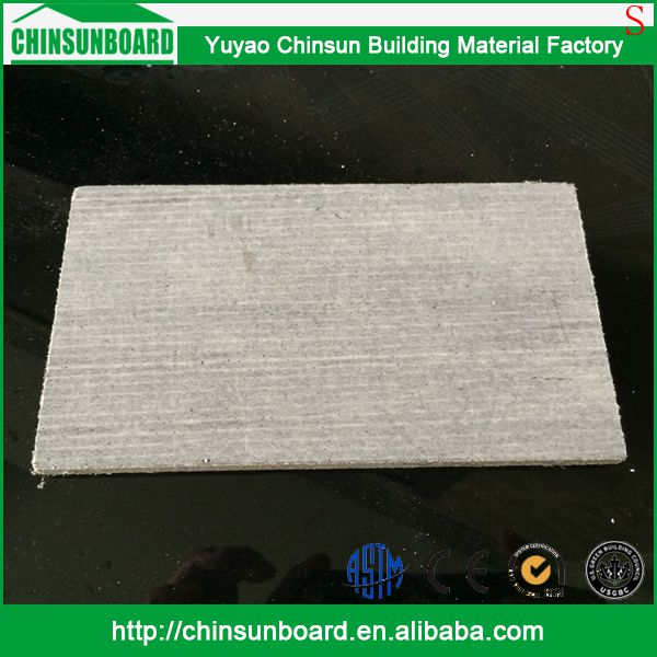 CE certificated Tested Waterproof Finely Processed tapered edge magnesium oxide board