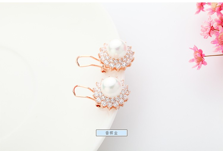 Luoteemi Deluxe Fashion Premium Rose Gold Plated Flower