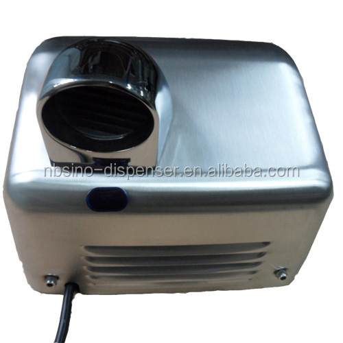 high quality double side high speed automatic stainless steel hand dryer