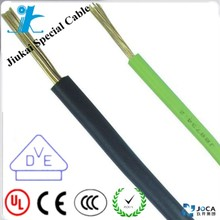 Copper core PVC Electrical H07V-U H07V-R H07V-k BV BVR Wire Cable