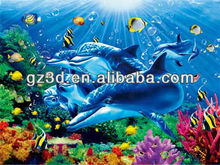 2016 New arrival 3D painting for sale 3d sea animal pictures