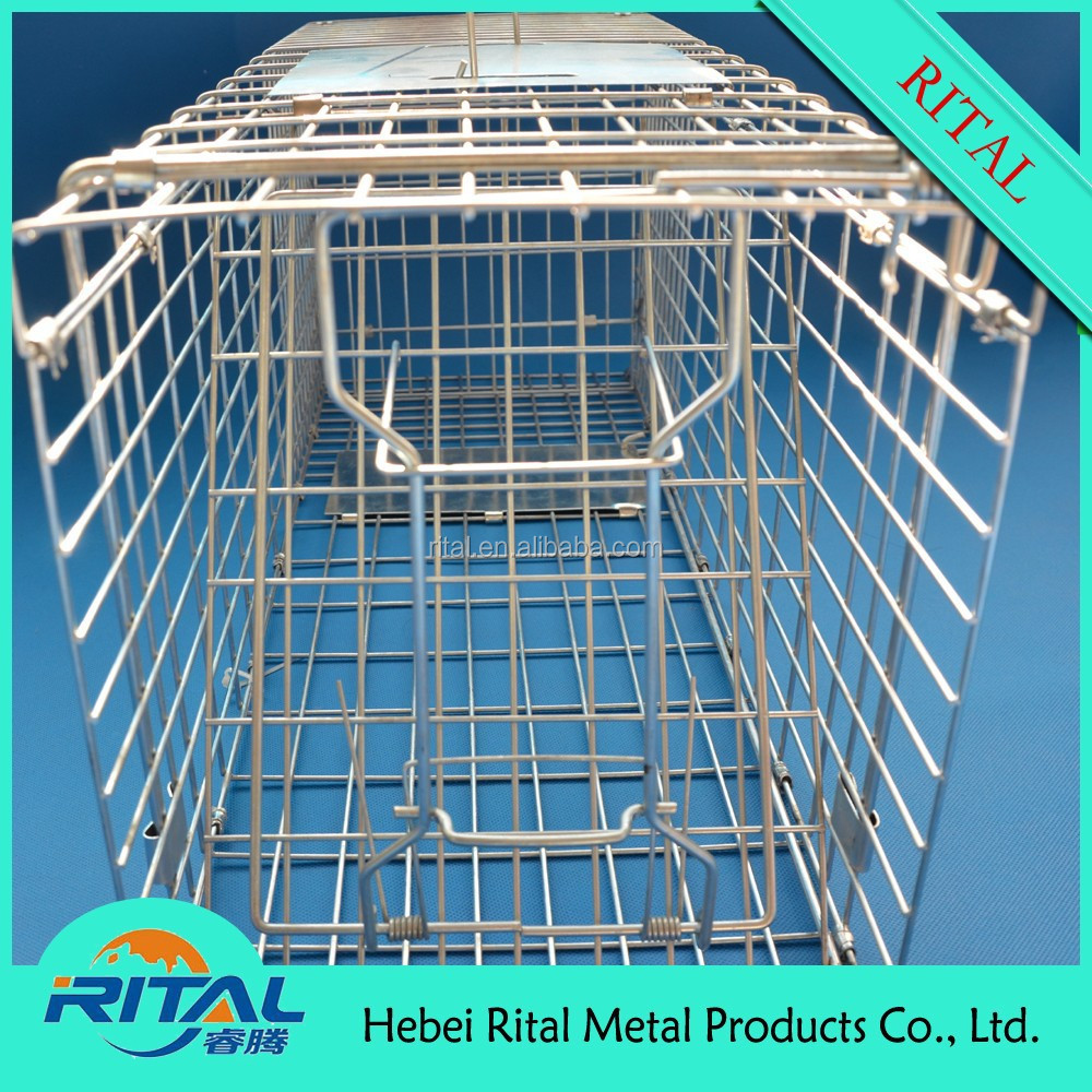 galvanized iron wire mouse cage trap
