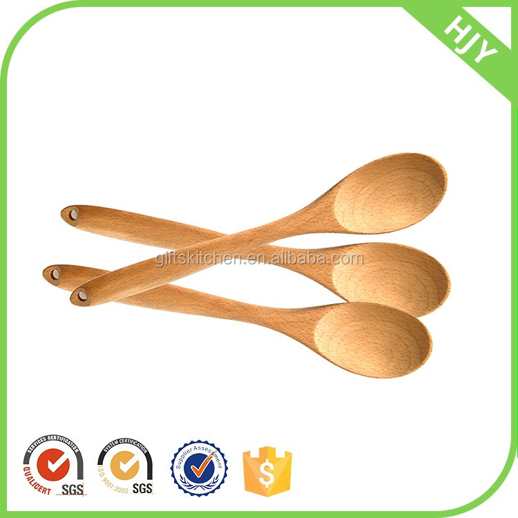 Wholesale Carbonized bulk cheap wooden cooking spoons