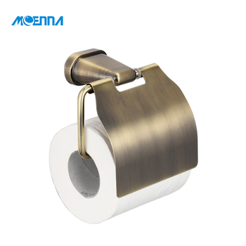 Wall Mounted Alloy Paper Roll Antique Stainless Steel Towel Tissue