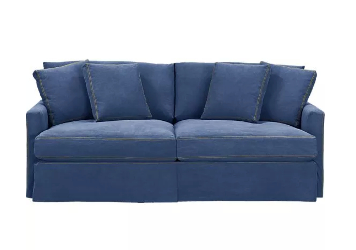 Nordic Minimalist Cowboy Busha Mediterranean Sofa Fabric Ikea Double Pressure In Price On Alibaba
