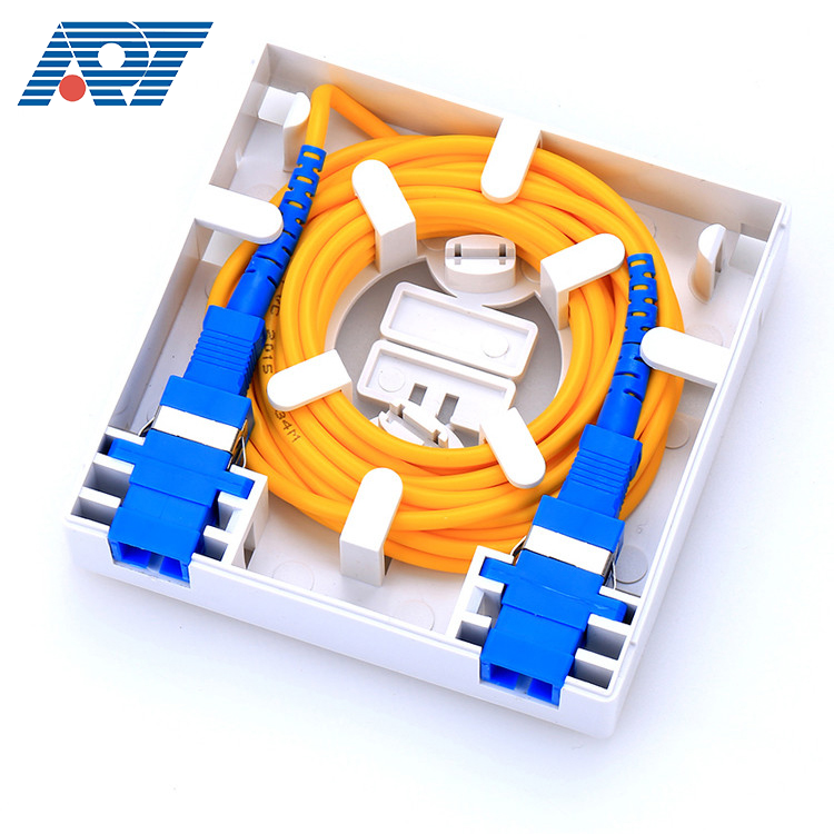 GPON distribution cable joint closure box indoor fiber optic terminal FTTH box 86 faceplate for splitter