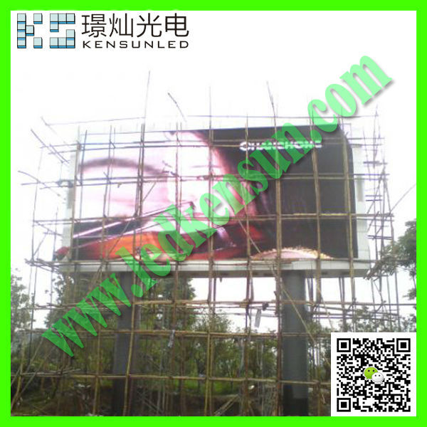 Energy saving full color HD LED video display screen biggest led screen module for p20 outdoor