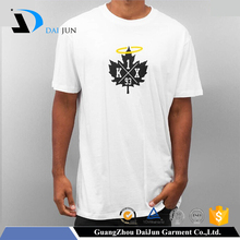 Daijun oem om custom screen printed t shirts make in china
