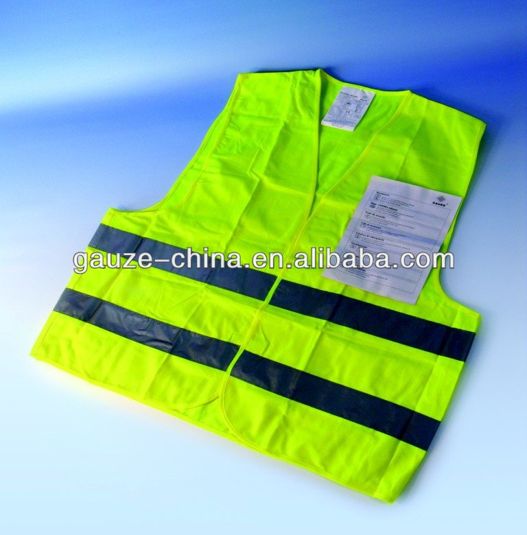 auto safety warning vest for ambulance