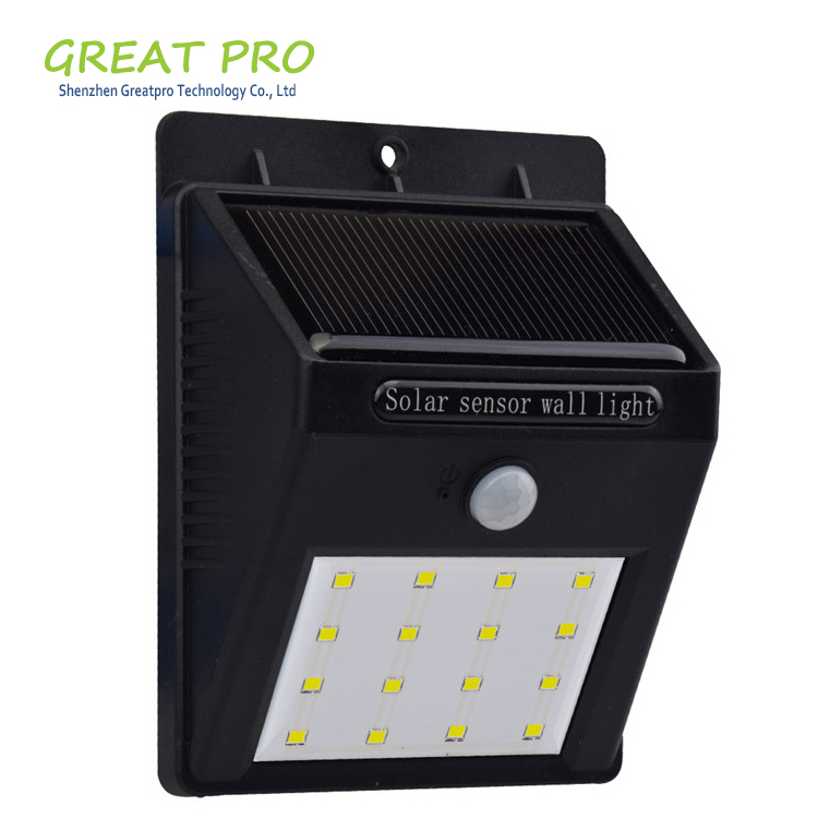 6/8/10 Led Solar Sensor Wall Light Garden Yard Lamp Outdoor Waterproof Solar Motion Sensor Light