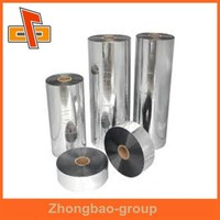 manufacturer supply good stretching plastic wraps big rolls PVC clear film For Bottle Packaging & printing