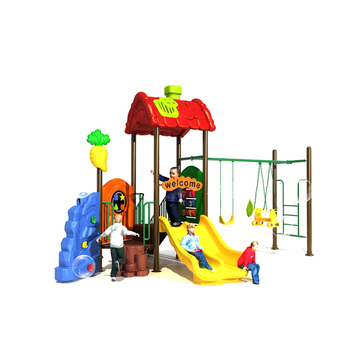 High Quality Kids Plastic Slides Playground Preschool Slide Outdoor Swing Set
