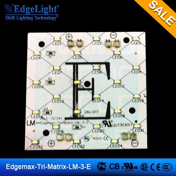 Edgelight LED pixel EDGEMAX-LM-Tri-Matrix-3-E