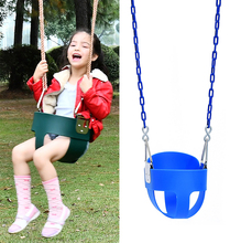 customize color eva indoor outdoor playground baby toddler bucket swing set