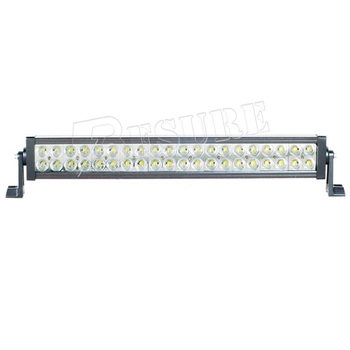 200W Black White LED Light Bar Waterproof Toughed glass High Low Beam 24.5'' 10~30 DC For Car 4*4
