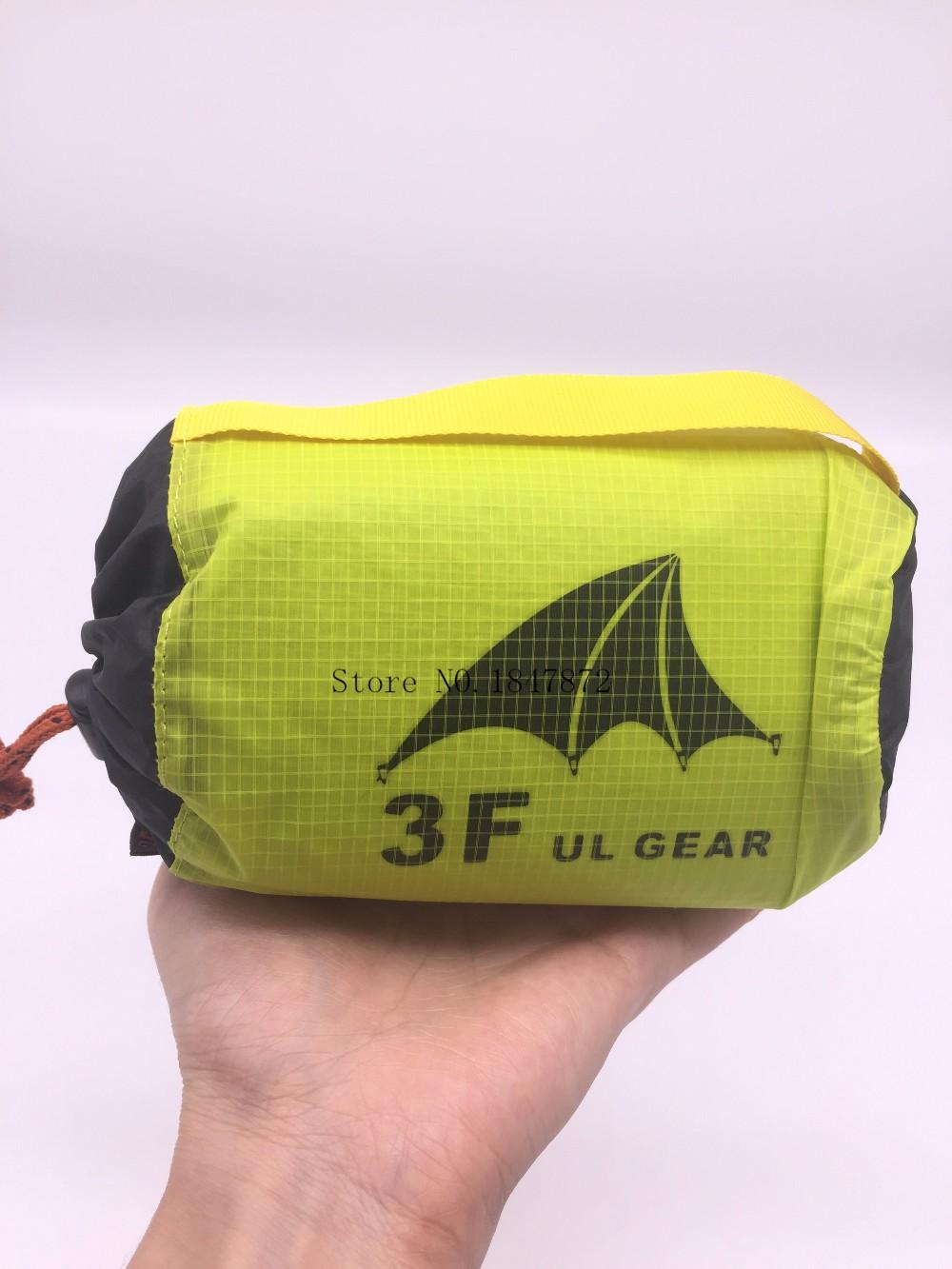 3f Ul Gear Ultralight 15d Poncho Nylon Rain Raincoat
