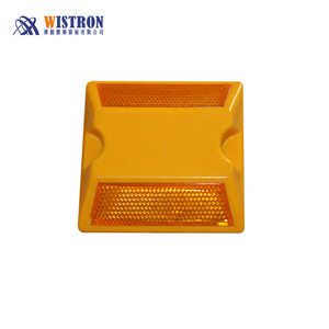 ABS 10cm Road Raised Pavement Marker /Road Stud/Road Reflector with Export Standard