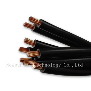 XLPE PVC solar cable 1/2/3 Cores TUV approved