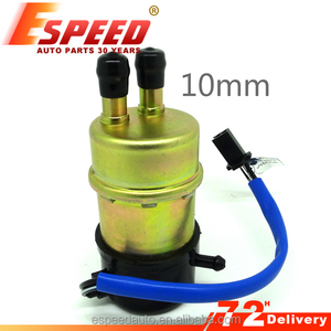 Motorcycle Racing Fuel Pump for 600cc 1100cc 10mm input output tube 50-60lph flow rate for HONDA CBR600