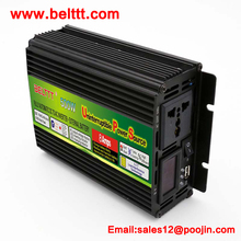 power inverter with battery charger 500W UPS DC12V to AC220V