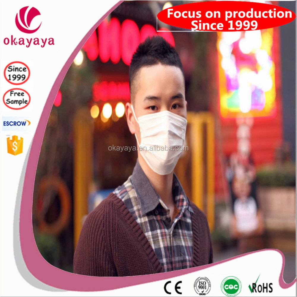 High Quality disposable Ebola virus non woven 3m 8210 n95 face mask