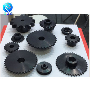 Nonstandard and Customized Black Chain Sprockets