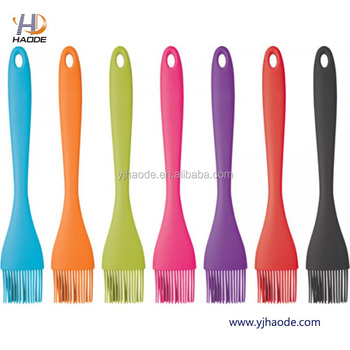 Multiple high quality barbeque grill sauce brush silicone brush