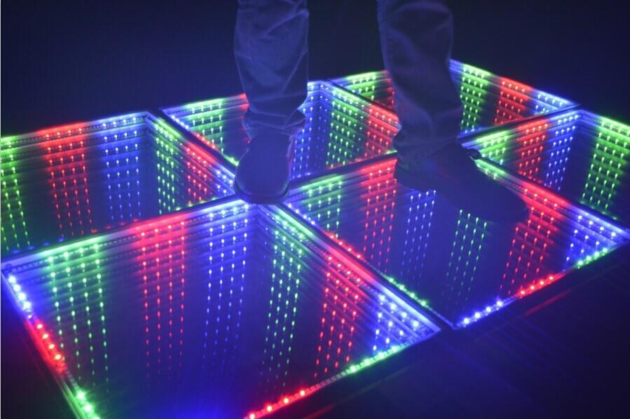 Led Stage Lighting 3d Led Dance Floor New 3d Mirror Led