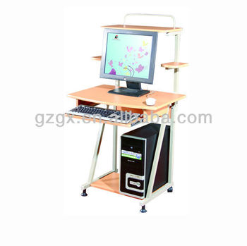 GX-268S metal computer desk with speaker frame