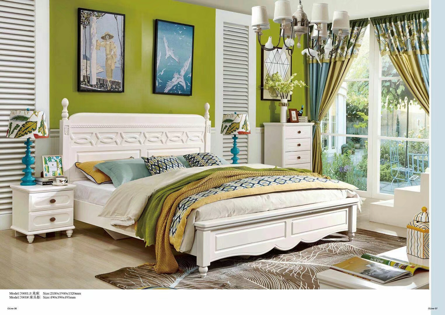 Cheap White Mdf Solid Wood Master Bedroom Furniture Set Modern Design  Wooden King Size Queen Size Bedroom Set - Buy Mdf Bedroom Sets,Master  Bedroom ...