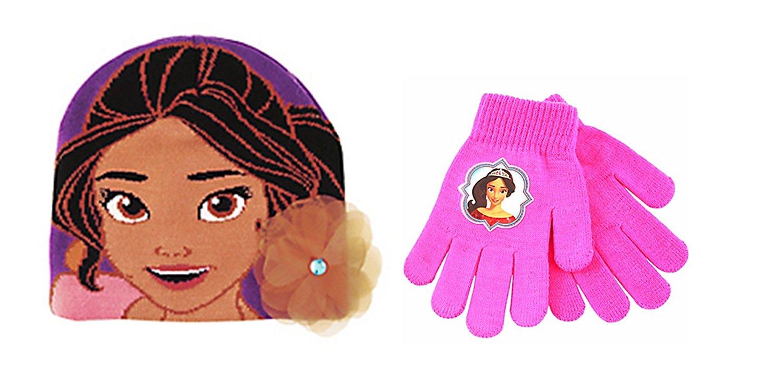 Disney Elena of Avalor Beanie Hat & Gloves ~ Child