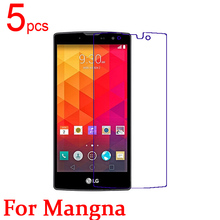 5pcs Ultra Clear LCD Screen Protector Film Cover For LG Magna H502F Protective Film + cloth