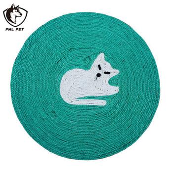 Colorido Gato Engracado Brinquedo Sisal Placa Do Risco De Gato Dos