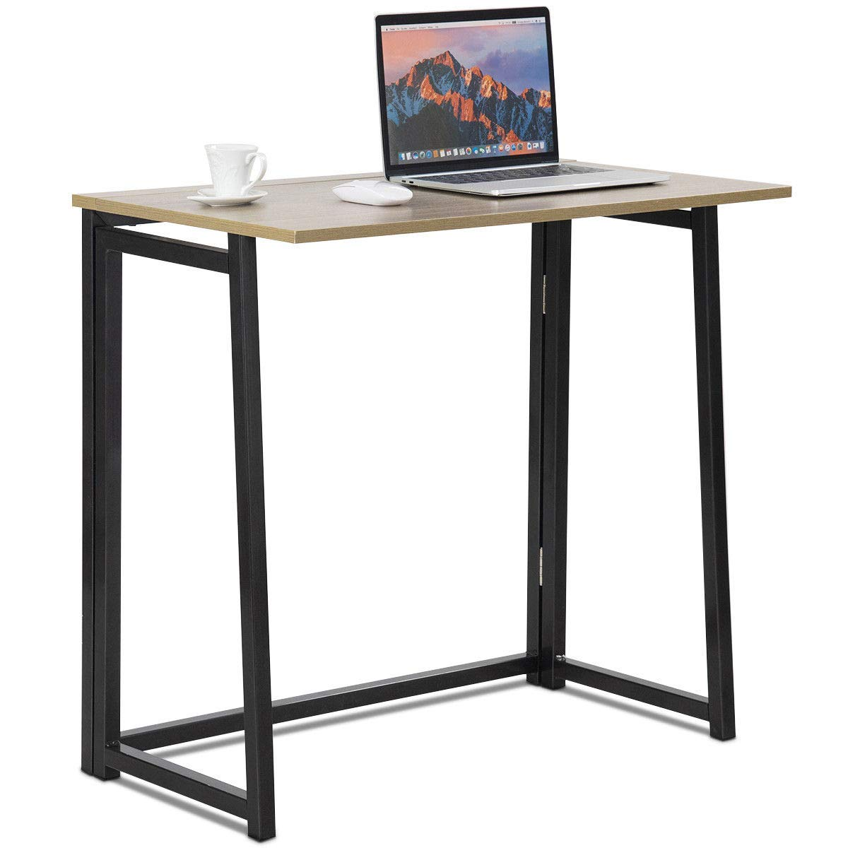Computer Desk Table Laptop PC Writing Study Workstation Office Folding