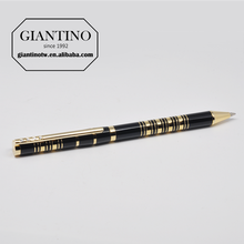 Brand Name Luxury Gold and Black Ball Point Writing Pens