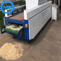 high quality fully automatic wood shaving machine for animal bedding