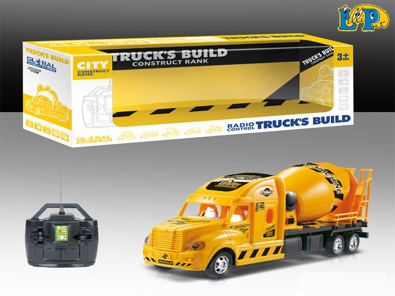 4CH Radio Control Construction Truck Toys with Light