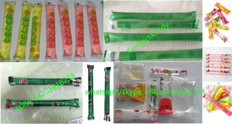 VFFS Automatic fruit ice pop packing machine for jelly stick liquid pouch