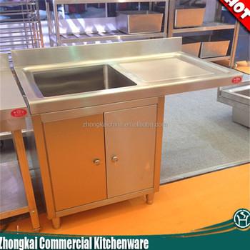 Mobile Lavello Da Cucina.1 Lavello Da Cucina In Metallo Mobile Base Acciaio Inox Cucina