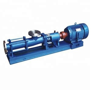 G series screw pump low pressure sludge pump/Multistage Single Suction Screw Pump