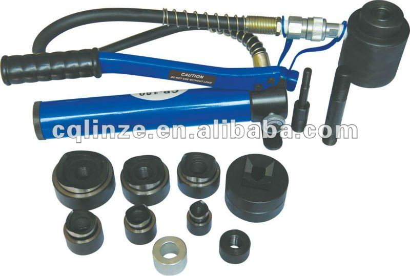 "1/2 ~ 2"" hydraulische knock-out punch kit( slug buster)/perforator instrument/metalen perforator/11"